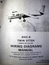 de Havilland Canada DHC-6 Twin Otter Wiring Diagrams Manual Series 100 & 200