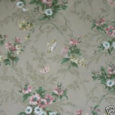 10sr Thomas Strahan Historic Late 1700s Period Repro French Floral Wallpaper