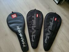 3 Never Used 4 1/4 Wilson Tennis Racquets