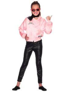 Girls Grease Pink Ladies Costume