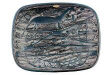 A mid century Mari Simmulson dinosaur bowl for Upsala-Ekeby. 1950's 60's Swedish