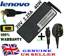 Genuine Lenovo IBM Z50-75 B50-30 X240 Charger Adapter Power Supply 2.25A + Cable