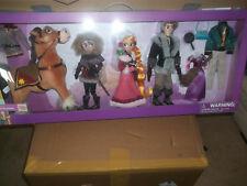 Disney 11'' Deluxe Doll gift Set Rapunzel Flynn Maximus Cassandra New singing