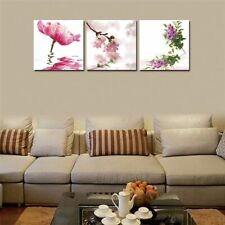 Framed Wall Pictures Paintings For Home Living Decoration Lotus Flowers Printing