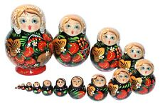 15- PC RUSSIAN NESTING DOLLS MATRESHKA #919