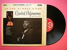 Judy Garland - Greatest Performances, Ace Of Hearts AH-11 Mono Ex Condition LP