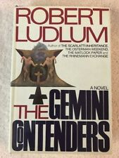SIGNED  Robert Ludlum THE GEMINI CONTENDERS SIGNED fine in dj