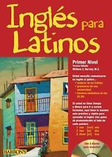 Ingles para Latinos, Level 1 with Audio CDs by William C. Harvey M.S. (2011,...
