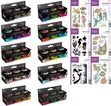 Crafters Companion - Spectrum Noir Sparkle Liquid Ink 30ml or A6 Sea Stamps