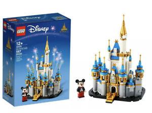 Disney Parks Magic Kingdom Cinderella 50th Castle Lego 40478 New Release 💥