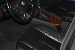 BMW 7er E38 Ledersitze Montana schwarz komplett top gepflegt, manuell