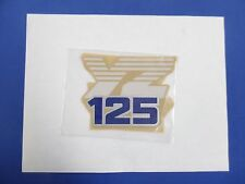 #2226 VINTAGE GENUINE YAMAHA TANK/AIRSCOOP DECALS SET FOR 1986 YZ125