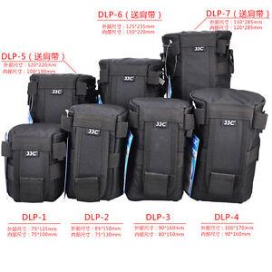 JJC Deluxe Lens Pouch Bag for DSLR Camera Lens Weather-Resistant Anti-Scratch