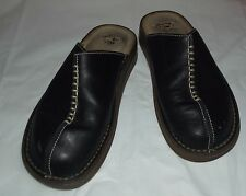 Dr. Martins  Womens on shoes  sz 6 - fit 6 / 7   Black  Leather Mules