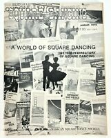 VTG American Square Dance Magazine 1978-1979 World of Square Dancing DIRECTORY