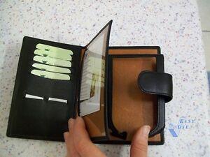 Pielframa cowskin case Ledertasche schwarz Rindsleder f. iPAQ h5450 in Deko-Box