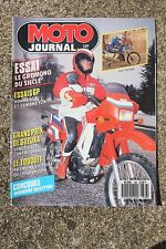 MOTO JOURNAL N°786 YAMAHA TZR 250 YZR KAWASAKI KLR 650 HONDA NSR LE TOUQUET 1987