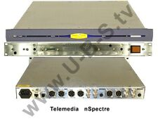 Telemedia nSpectre - FBAS,Y/C,Component to mpeg