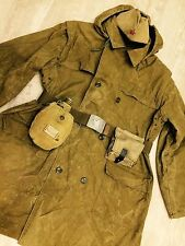 Russian Soviet uniform jacket (XL) + hat + belt +bag + water bottle  style WW-2