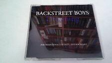 "BACKSTREET BOYS ""DROWNING"" CD SINGLE 2 TRACKS"