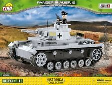 COBI Panzer III Ausf. E / 2523 / 470 blocks WWII Small Army German tank