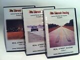 Real Street Racing Trilogy 3 disc set (1989-2004 includes Vol I, II and III) DVD