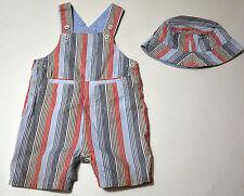 Tolles Baby Set von Tommy Hilfiger Latzhose und Mütze Größe 6-12M 68/74