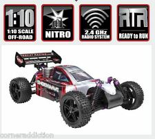 Redcat Racing Shockwave 1/10 Scale 4WD Nitro Buggy 2.4GHz RED