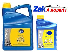 BMW 520 D 520D F10 F11 5W30 D2 FULLY SYNTHETIC ENGINE OIL LONGLIFE 6 LITRES