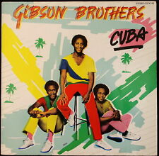 *** 33 TOURS LP VINYL GIBSON BROTHERS - CUBA * POLYDOR RECORDS - ALLEMAGNE ***