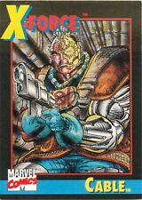 1991 MARVEL COMICS  IMPEL X-FORCE PROMO CARD #1 CABLE