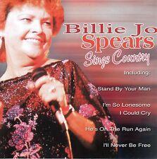 BILLIE JO SPEARS Sings Country CD - New