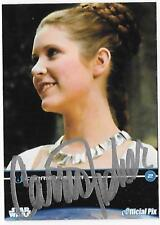 2009 Fan Days III Plano Tx. Carrie Fisher Autogrpahed Promo Card #2