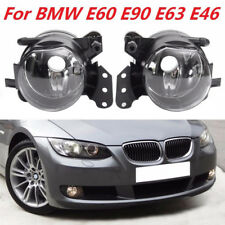 2x Left Right Front Fog Light Lamp Clear For BMW E60 E90 E63 E46 323i 325i 525i