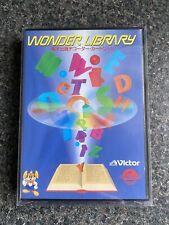 Wonder Library (Victor Wondermega) Sega Mega Drive Software NTSC-J VGC!