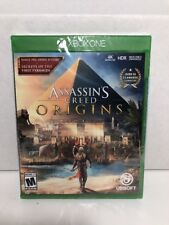 NEW SEALED ASSASSINS CREED ORIGINS GAME XBOX ONE 2017 4K FREE SHIPPING