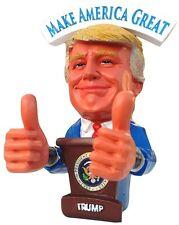 Donald Trump Merry Christmas Bobble 2 Thumbs up Bobblehead FUNNY