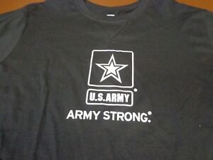 US Army Strong   Long Sleeve T Shirt  New Large   Q2