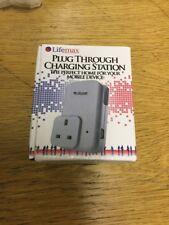 LifeMax Enchufe De Teléfono Móvil Estación de carga a través del puerto USB Cargador cargar dos