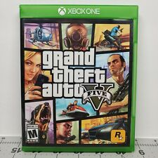 New listing Grand Theft Auto V (Microsoft Xbox One, M, 2014) w/Map Tested/Working