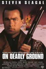 ON DEADLY GROUND Movie POSTER 11x17 Steven Seagal Michael Caine Joan Chen John
