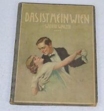 Vintage 1960's Das ist mein Wien Wiener Walzer Movie Score Sheet Music Book