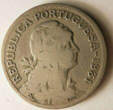 1931 PORTUGAL ESCUDO - Rare Date Coin - FREE SHIP - Portugal Bin #A