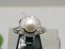 Echtschmuck-Ringe aus Weißgold mit Diamant 61 (19,4 mm Ø)