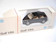 "Volkswagen VW Golf 3 III VR6 3T schwarz nero noir black Schabak 1:43 BOXED ""VR6"""