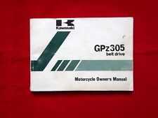 GENUINE 1993 KAWASAKI GPZ305 BELT DRIVE OWNERS MANUAL 99922-1660-01 EX305-B9