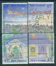 1992 NEW ZEALAND SG1700-4 CHRISTMAS (PUZZLE STAMPS SET)