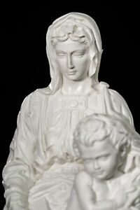 'The Madonna of Bruges' by Michelangelo, Sculpture, Art, Gift, Ornament.
