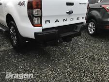 To Fit 2012 - 2016 Ford Ranger Black Steel Rear Back Bumper Step 4x4 Accessories