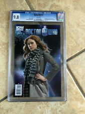 DOCTOR WHO #11 cgc 9.8 11th Doctor ONGOING IDW from 2011 Photo Cover Variant